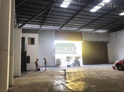 Imagem 1 de 6 de Galpão Para Alugar, 600 M² Por R$ 8.000/mês - Grande Vitoria - Manaus/am - Ga0239