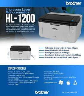 Impresora Monocromo Laser