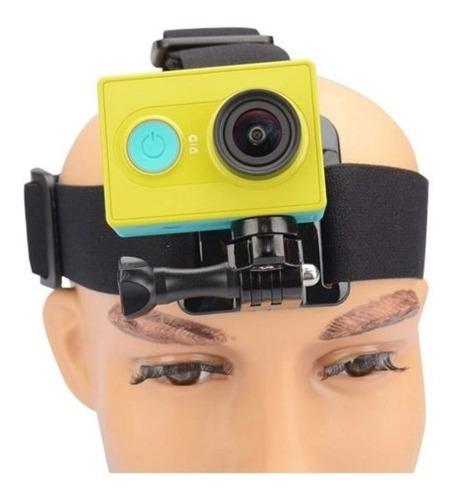 Suporte Cameras Gopro Hd Hero 2 ,3 E 4 De Cabeça