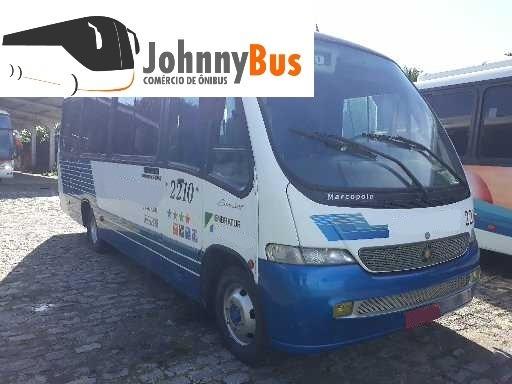 Micro Ônibus Rodoviário Marcopolo Senior Ano 2002 Johnnybus