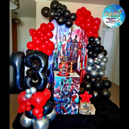 Imagen 1 de 5 de Decoración De Fiestas Con Globos