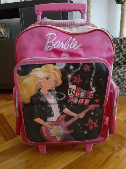 Mochila Carro Barbie Rock Star Original. Gran Capacidad !!!