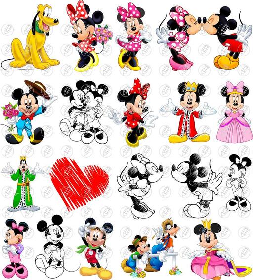 Vetores E Imagens Mickey Minnie Turma Minie Rosa Vermelha