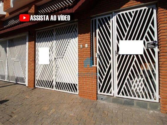 Ca0138- Casa Com 1 Dormitório Para Alugar, 100 M² Por R$ 1.250,00/mês - Jardim Das Flores - Osasco/sp - Ca0138