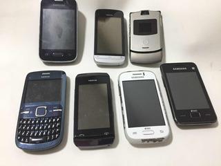 Celular Samsung Nokia Motorola 7 X Lote Leia