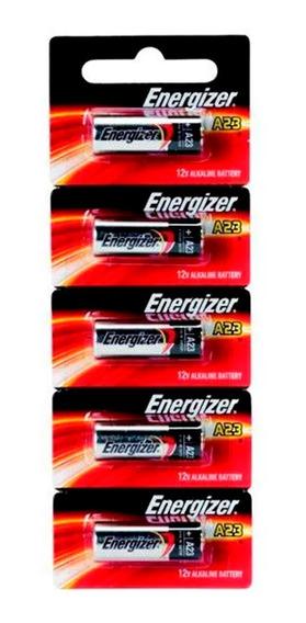 Pilha Bateria A23 12v Energizer Cartela 5 Unid Original Nfe