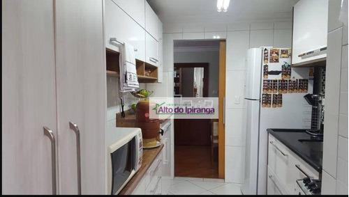 Apartamento Com 2 Dormitórios À Venda, 78 M² - Saúde - São Paulo/sp - Ap4829
