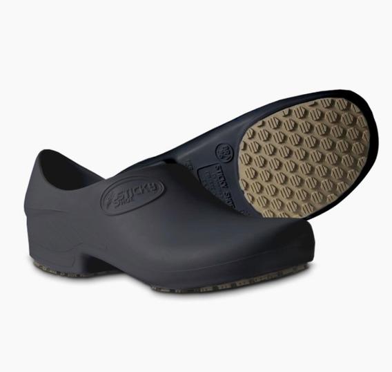 Zapato Liviano Hombre Mujer Enfermero Colegial Sticky Shoe