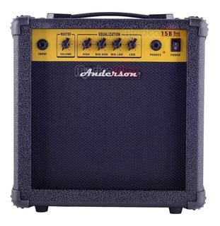 Combo: Amplificador Anderson 15w+micrófono Samson+cable 5m