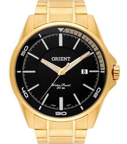 Relógio Orient Masculino Dourado Mgss1130 P1kx Original