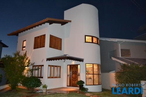 Casa Em Condomínio - Condomínio Villagio Capriccio - Sp - 592654