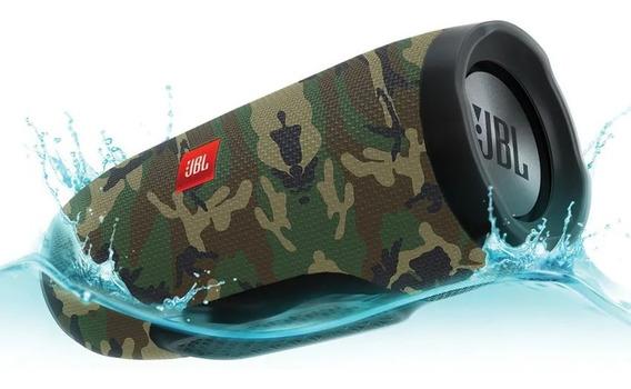 Caixa De Som Charge 3 Bluetooth 100% Original Verde Jbl
