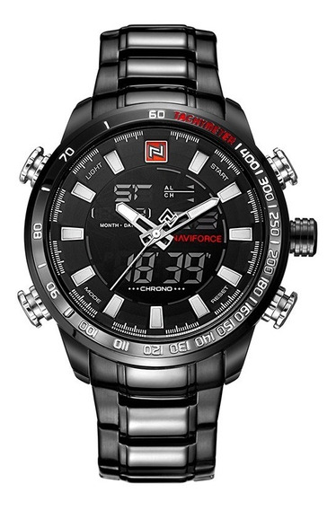 Relógio Naviforce Original Masculino Militar Esportivo 9093