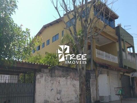 Venda E Locação Casa Itaquaquecetuba Excelente Imóvel Localizado No Parque Residencial Scaffid, Com A/t 416,28m² A/c 337m² - Ca01452 - 33472025