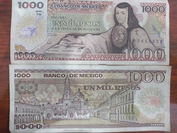 Billetes De 1000 Pesos Antigüos