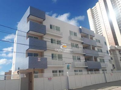 Apartamento Com 2 Dormitórios À Venda, 52 M² Por R$ 200.000 - Bessa - João Pessoa/pb - Ap2334