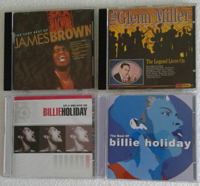 James Brown / Glenn Miller Orchestra / Billie Holiday - Cds