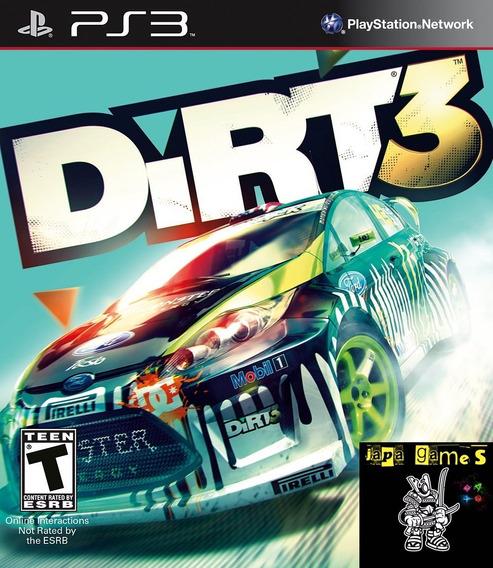 Dirt 3 Para Ps3 Jogos Psn Jogos De Corrida Enviamos Hoje