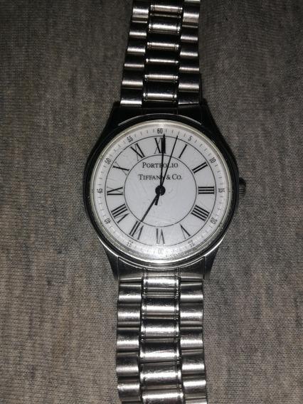 Reloj De Pulsera Para Dama Tiffany & Co. Modelo Portfolio