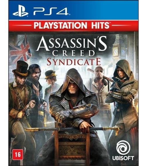 Assassins Creed Syndicate Ps4 Midia Fisica Em Portugues Br