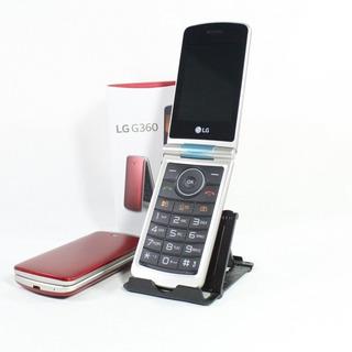 Celular Idoso Lg G360 Dual Flip Tela 3.0 Câmera 1 Ano Gr