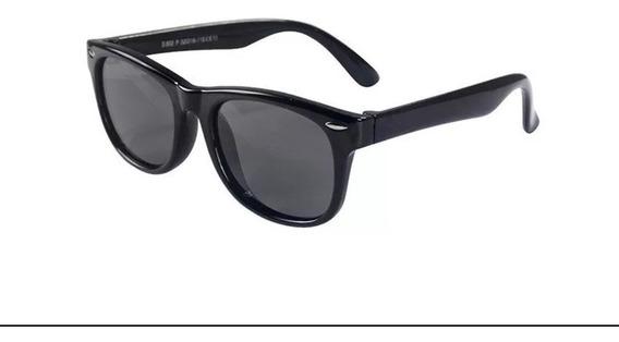 Óculos De Sol Infantil Flexível Lente Polarizada Uv400 +case