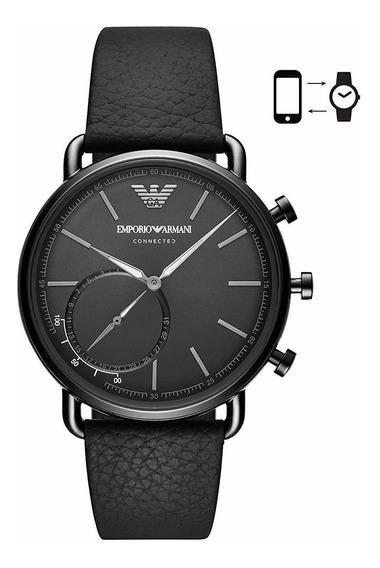 Emporio Armani - Reloj Inteligente Híbrido De Cuarzo Para