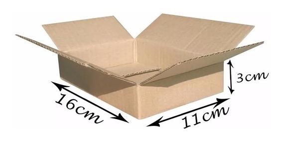 100 Caixas Papelão Correio Sedex Pac16x11x03 Loja De Fabrica