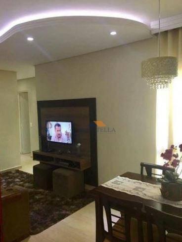 Apartamento Com 3 Dormitórios À Venda Por R$ 230.000 - Jardim Brasil - Limeira/sp - Ap0505