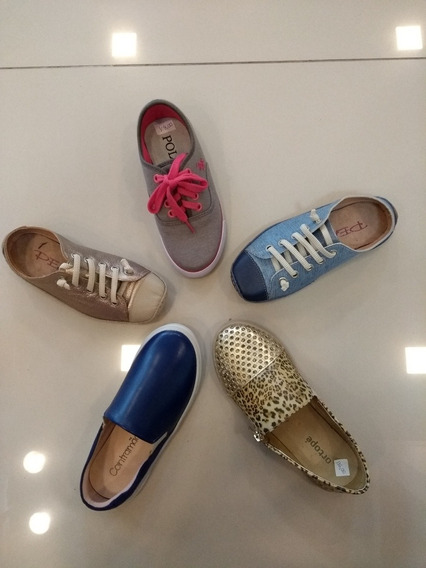 Combo 10 Pares Calçados Para Revenda Sapatos Atacado Varejo
