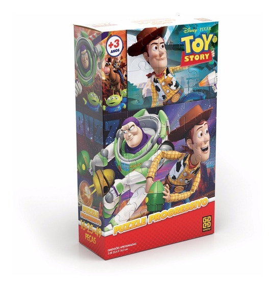 Puzzle Progressivo Toy Story Grow