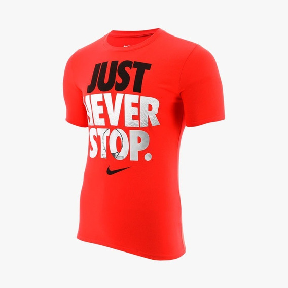 Playera Nike Just Never Stop Hombre