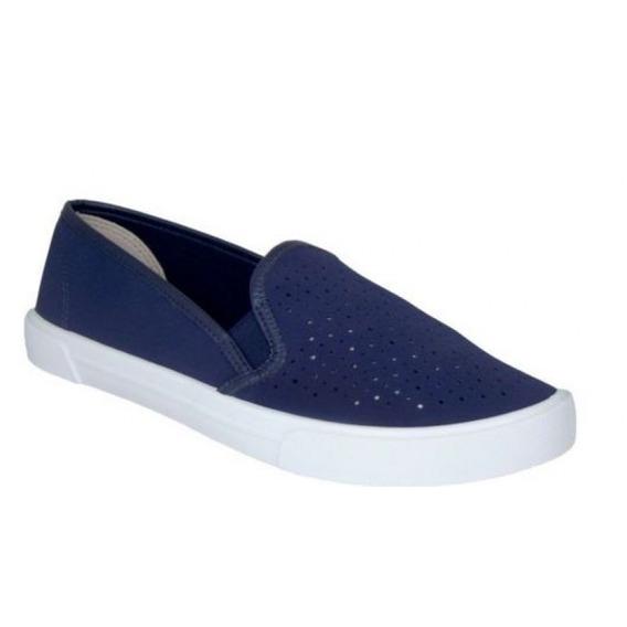 Tenis Moleca 5296.100 - Azul - Delabela Calçados