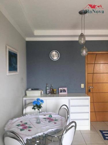Apartamento Com 3 Dormitórios À Venda, 64 M² Por R$ 320.000,00 - Condomínio Residencial Grand Ville - Indaiatuba/sp - Ap2659