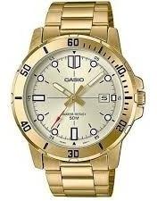 Relógio Casio Masculino - Mtp-vd01g-9evudf - Nf Frete Gratis
