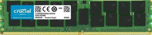 Memoria Ram 32gb Crucial Technology Ddr4 Pc4-21300 2666mhz Rdimm Dual Ranked Registered Ecc (ct32g4rfd4266)