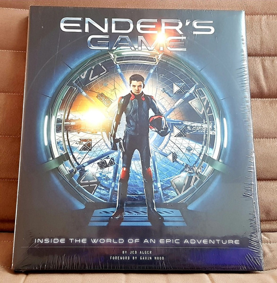 Livro Enders Game Inside The World Epic Adventure Capa Dura