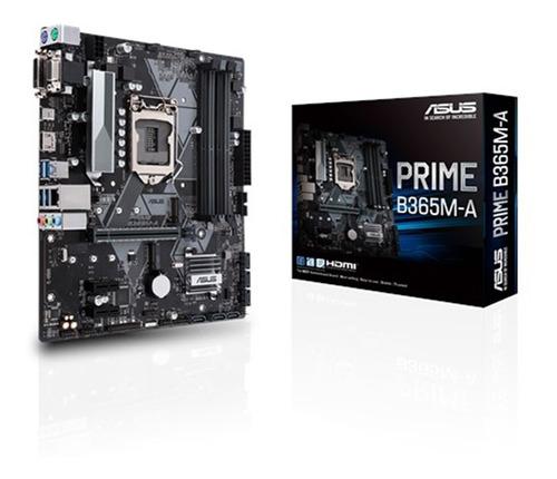 Mother Asus B365m-a Prime Socket 1151 B365 Chipset