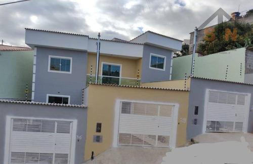 Imagem 1 de 14 de Sobrado Com 2 Dormitórios À Venda, 75 M² Por R$ 250.000,00 - Jardim Nicea - Itaquaquecetuba/sp - So0242