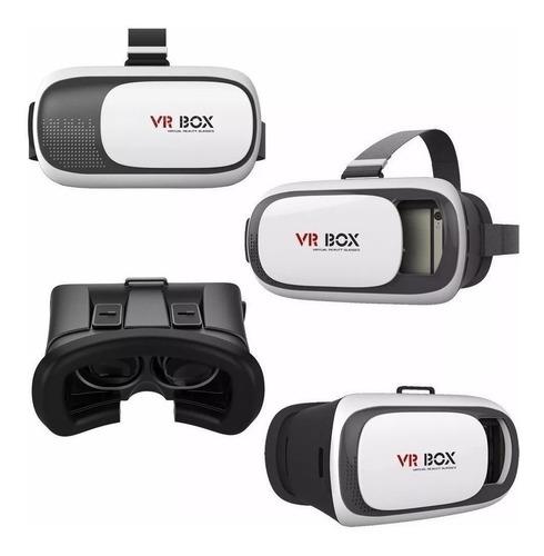 Gafas Realidad Virtual 3d Vr Box Telefonos Intelig + Control