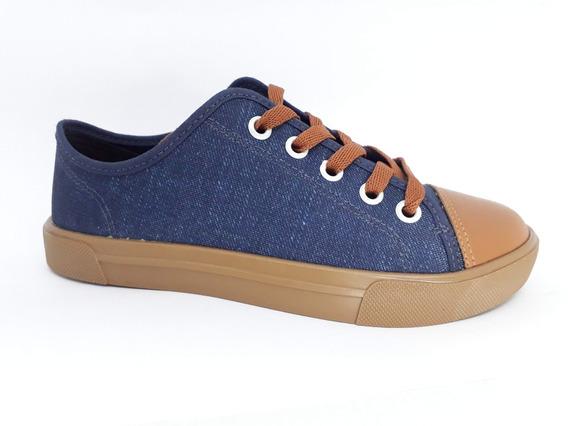 Tênis Casual Molekinho Jeans Caramelo 2800.118