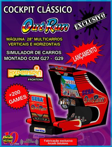 Fliperama Multicarros - Outrun...leiam O Anuncio!