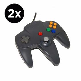 2x Controles Nintendo 64 N64 Manete Joystick Melhor Preço!!!