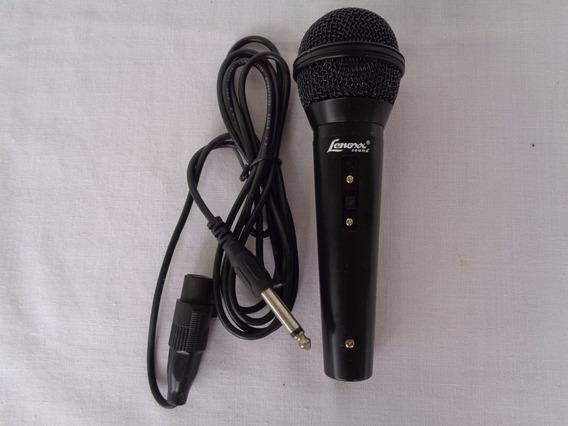 Microfone Lenoxx Sound Para Karaokê