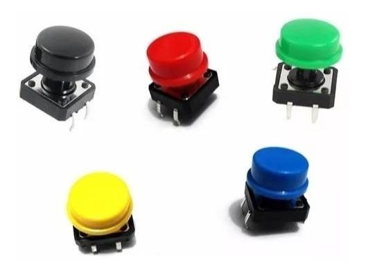 5 Unidades Chave Táctil Push Button Botão Arduino