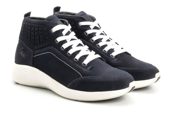 Tênis Jhon Boots Cano Alto Original Oferta Couro