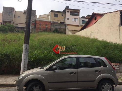 Imagem 1 de 2 de Terreno À Venda, 275 M² Por R$ 450.000,00 - Parque Espacial - São Bernardo Do Campo/sp - Te0142