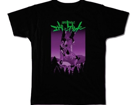 Nostalgia Shirts- Evangelion Unit 01