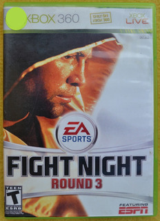 Fight Night Round 3 Xbox 360 Play Magic