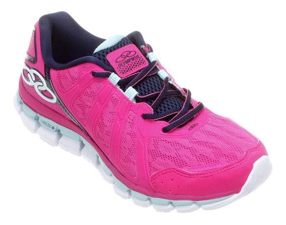 Tênis Sapato - Olympikus Diffuse 181 Marinho / Pink - N°(38)